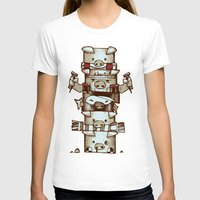 totem T-shirts featuring Totem by tipa graphic