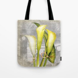 Macro Flower #8 Tote Bag