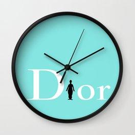 CHARLIE D Wall Clock