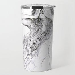 Rabbit Ghost Travel Mug