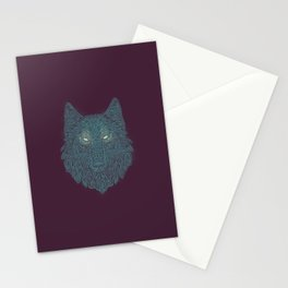 Wolf of Winter Stationery Cards