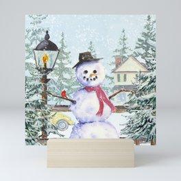 Winter Greetings Mini Art Print
