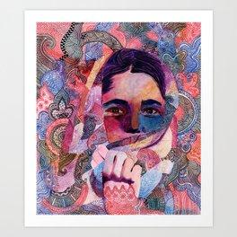 Speaking to Minds Art Print