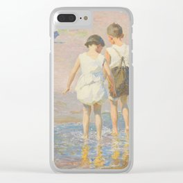 Edward Henry Potthast - Brother And Sister Clear iPhone Case