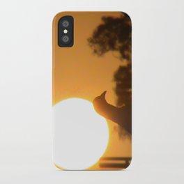 Pigeon Eclipse iPhone Case