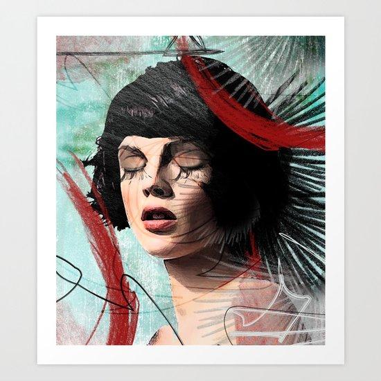 memories of sorrow Art Print