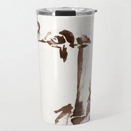 Japanese Birds Travel Mug