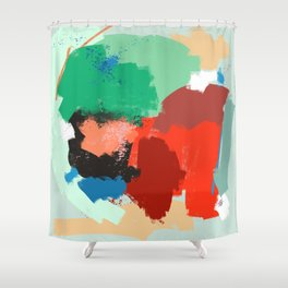 Ambience 041 lovely contrast Shower Curtain