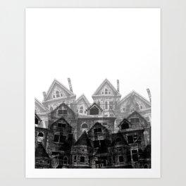 Fallen Cities Art Print