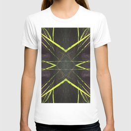 518 - Abstract grass design T-shirt