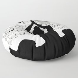 Sister moon Floor Pillow