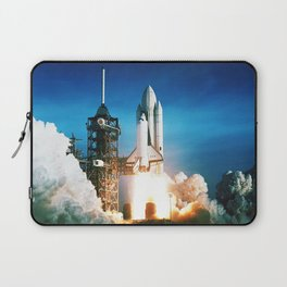 Space Shuttle Launch Laptop Sleeve