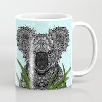 koala Mugs featuring Koala by ArtLovePassion