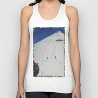 hiking Tank Tops featuring Hiking by Richard McGee