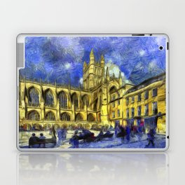 Bath Abbey Van Gogh Laptop & iPad Skin