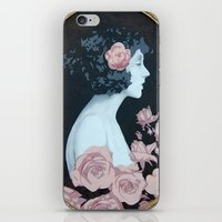 helen iPhone & iPod Skins featuring Helen by Mike Ferrari