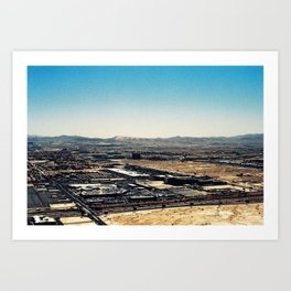 Las Vegas from Above Art Print