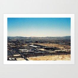 Las Vegas from Above Art Print