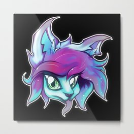Velvet the Psychic Metal Print
