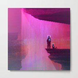 Waterfall | PixelArt #8 Metal Print