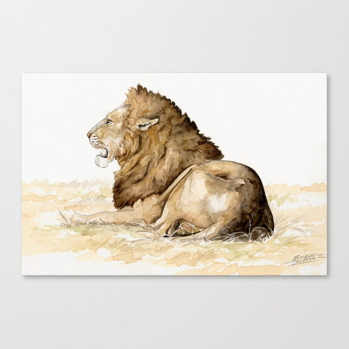 Africa10 Canvas Print