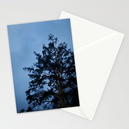 Evergreen at Twilight Stationery Cards