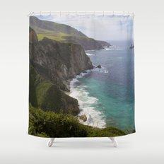 Ocean View Shower Curtain