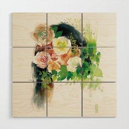 Roses-I Wood Wall Art