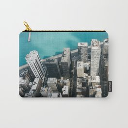 Chicago From Above Carry-All Pouch