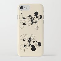 snatch iPhone & iPod Cases featuring Mickey O'Neil by Woah Jonny