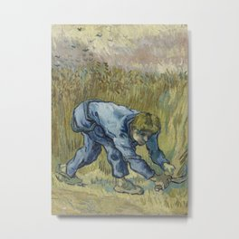 The Reaper (after Millet) Metal Print