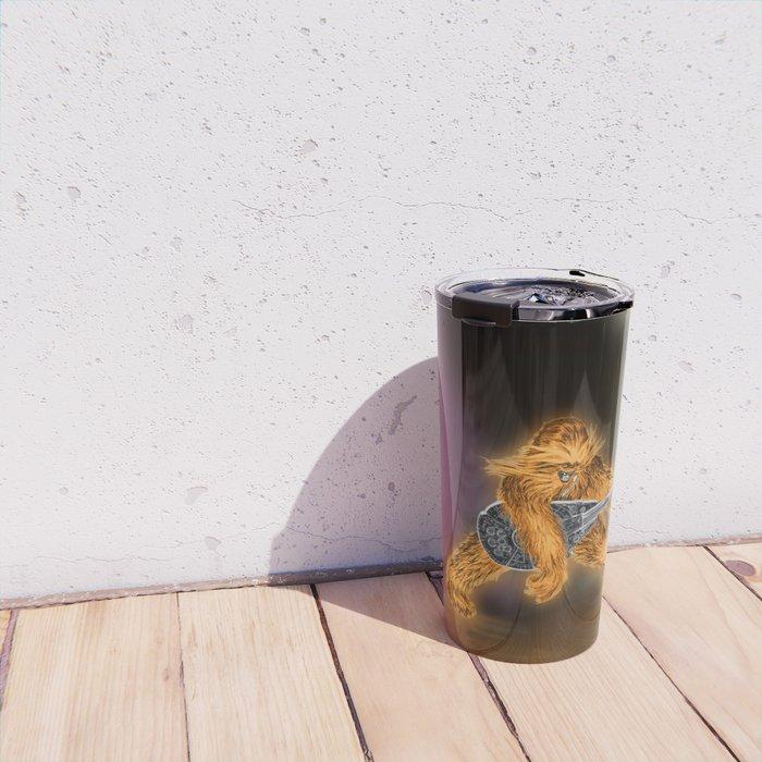 Chewbacca Rock Star Travel Mug
