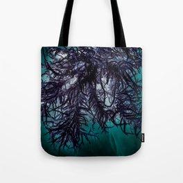 Dark Lichen Tote Bag