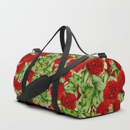 Painting the Roses Red Duffle Bag
