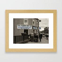 Carron Fish Bar  Framed Art Print