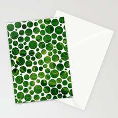 Marble Effect Dots 3 Stationery Cards