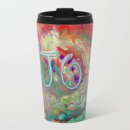 Joy to the Word Travel Mug