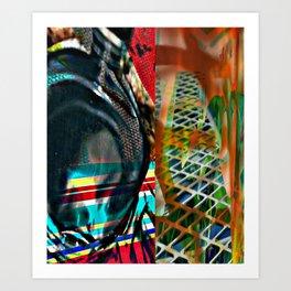 Modern art series 22 Art Print