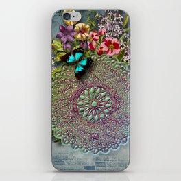 Mandala Flower iPhone Skin