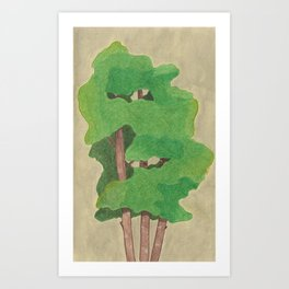 three in one Art Print