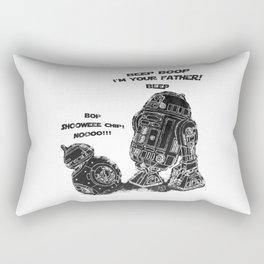 R2D2 Meet BB8 Rectangular Pillow