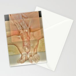 ISO-20 Adam, Long Sketch #68: Beautiful Seated Man Stationery Cards