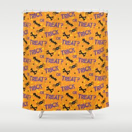 Trick or Treat? Shower Curtain
