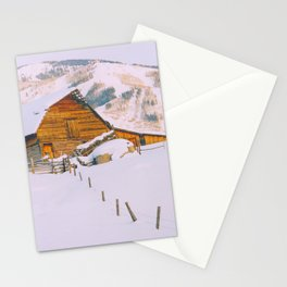 Old Barn - Steamboat - a Colorado Icon Stationery Cards