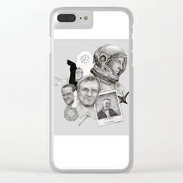 Christopher Nolan Clear iPhone Case