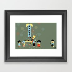 The Party (Alt) Framed Art Print