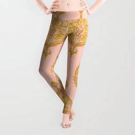 Endana Medallion in Peach Leggings