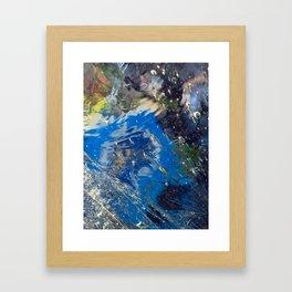 Under Ice Framed Art Print