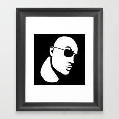 The Rock Dwayne Johnson  Framed Art Print