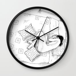 asc 547 - My New Year's resolutions - December Wall Clock